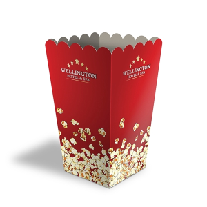 "PaperSplash 5"" x 8 1/4"" Popcorn Box"